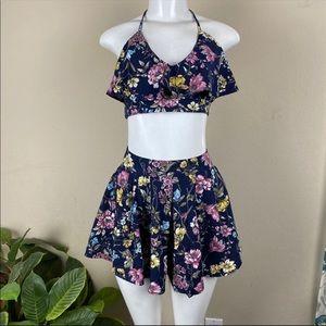 NWOT 2pcs Set Skirt and Top